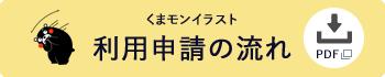 くまモンイラスト申請の流れ